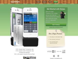 support.appninjas.com screenshot