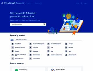 support.atlassian.com screenshot