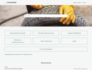 support.autovitals.com screenshot