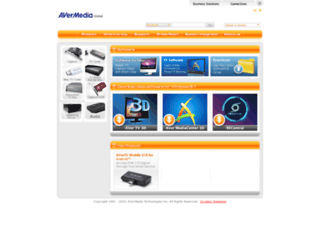support.avermedia-usa.com screenshot