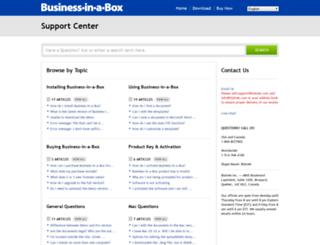 support.biztree.com screenshot