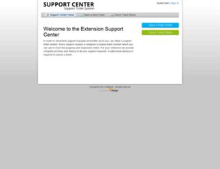 support.cartbinder.com screenshot