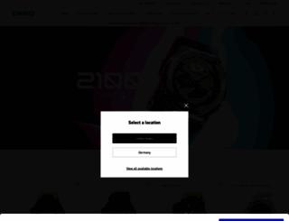 support.casio-europe.com screenshot