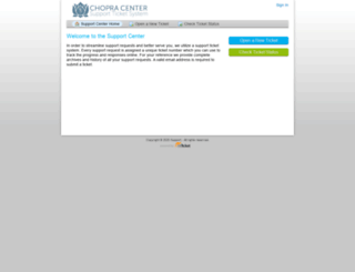 support.chopracentermeditation.com screenshot