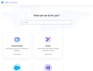 support.clearbit.com screenshot