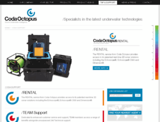 support.codaoctopus.com screenshot