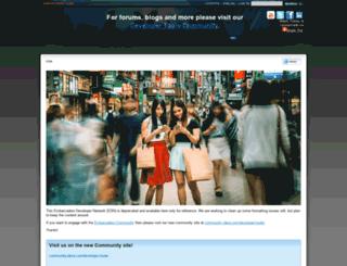 support.codegear.com screenshot