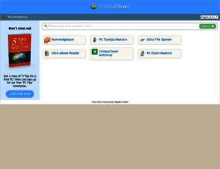 support.compuclever.com screenshot