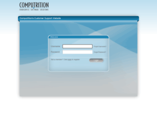 support.computrition.com screenshot