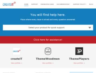 support.createit.pl screenshot