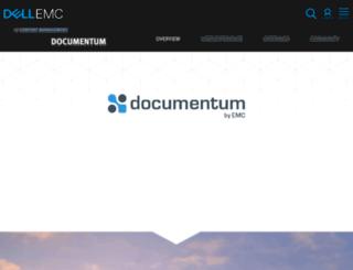 support.documentum.com screenshot