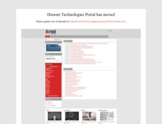 support.doremitechno.org screenshot