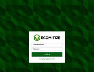 support.ecomitize.com screenshot