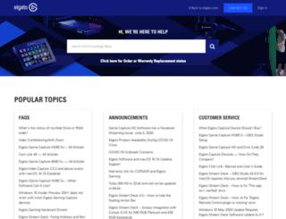 support.elgato.com screenshot