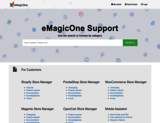 support.emagicone.com screenshot