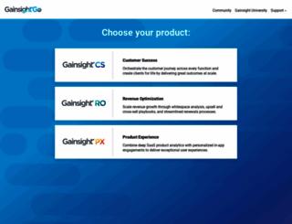 support.gainsight.com screenshot