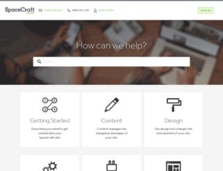 support.gospacecraft.com screenshot
