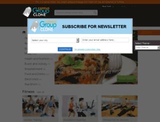 support.groupclone.net screenshot