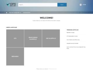 support.gtsservices.com screenshot