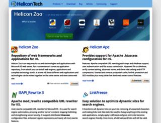 support.helicontech.com screenshot