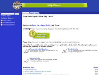 support.heroup.com screenshot