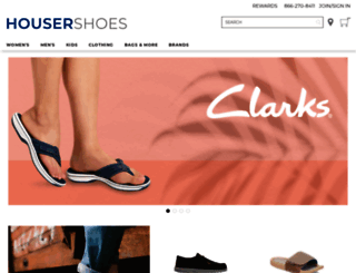 support.housershoes.com screenshot