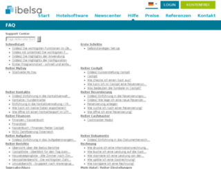 support.ibelsa.com screenshot