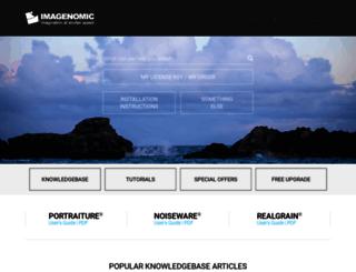 support.imagenomic.com screenshot