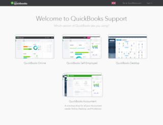 support.intuit.co.uk screenshot