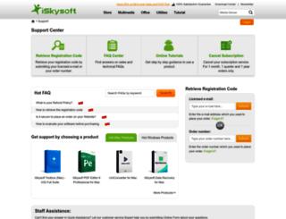 support.iskysoft.com screenshot