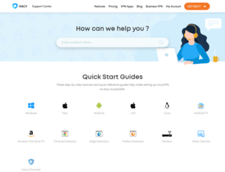 support.ivacy.com screenshot