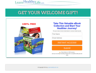 support.learnhealthylife.com screenshot