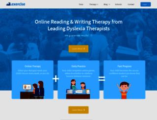 support.lexercise.com screenshot