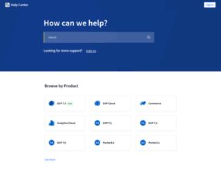 support.liferay.com screenshot