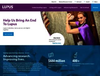 support.lupus.org screenshot