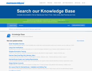 support.membermouse.com screenshot