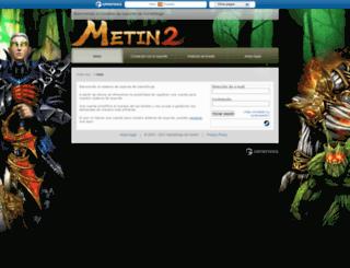support.metin2.es screenshot