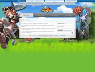 support.nostale.fr screenshot
