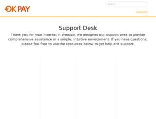 support.okpay.com screenshot