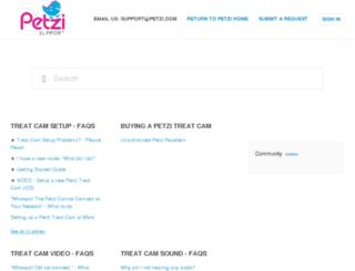 support.petzi.com screenshot
