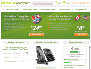 support.phonepower.com screenshot