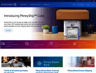 support.pitneyworks.com screenshot