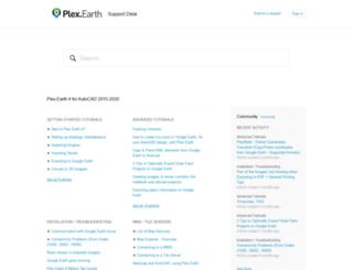 support.plexscape.com screenshot