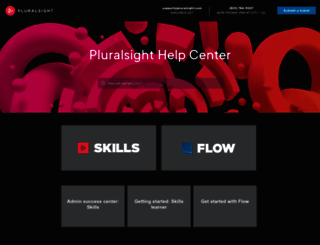 support.pluralsight.com screenshot