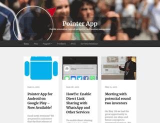 support.pointer-app.de screenshot