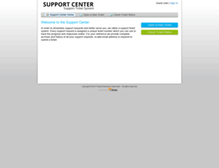 support.pulseextensions.com screenshot