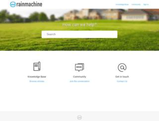 support.rainmachine.com screenshot