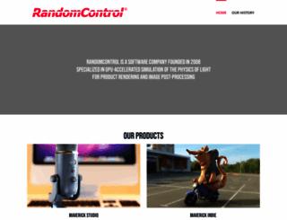 support.randomcontrol.com screenshot