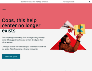 support.rignite.com screenshot