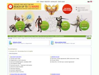 support.rpg-club.com screenshot